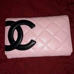Authentic chanel wallet. Stamped and serial number